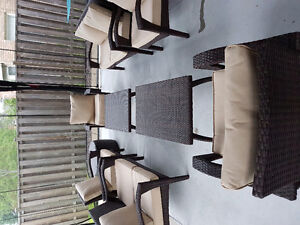 Brand new patio set for sale.