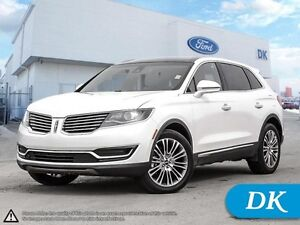 2016 Lincoln MKX Reserve w/Leather, Moonroof, Navigation!