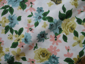 BEAUTIFUL PC. of NEW COTTON MATERIAL...FLORAL DESIGN