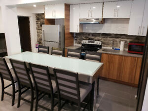 5 1/2 plateau montreal, renove ,L/S  meublee furnished, internet