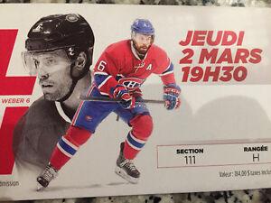Montreal Canadian Vrs Nashville Predators (Pk Subban)