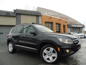 Volkswagen Tiguan 4MOTION, CUIR, 2.0 L, TOIT PANO, MAG 18 P,  20