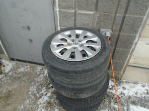 13 14 15 NISSAN SENTRA STEEL WHEELS 16' WITH HUBCAPS