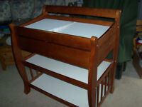 Deluxe Change Table, with Drawer,and change pad