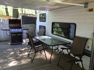 Roulotte 29 pieds situé au camping rouville