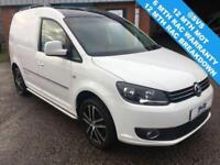 2013 VW CADDY 2.0 TDI EDITION 30 140BHP LIKE SPORTLINE STUNNING RARE VAN LOOK!