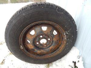 4 pneus d hiver et jantes West Island Greater Montréal image 2