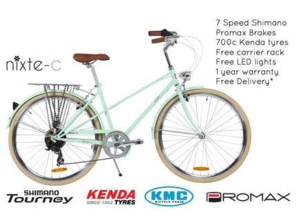 NIXEYCLES Nixte-C (Unisex) 7 Speed Bicycle   Free Delivery