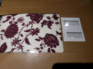EKTORP sofa cover, white/purple, in original box