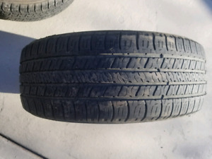 4 used summer tires 205/55/R16