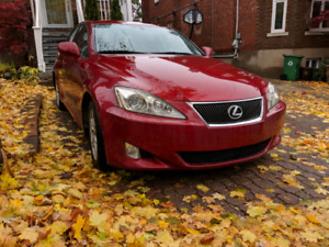 Lexus IS250 2008 Manuelle 90 000km