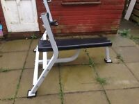 Heavy duty bench press weight bench