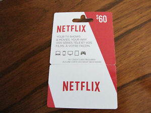 Netflix $60 card for sale