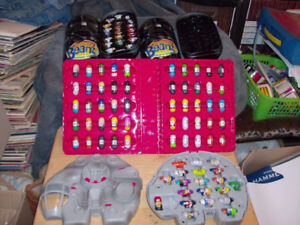 MIGHTY BEANZ MIXED LOT OF BEANZ AND CARRY CASES