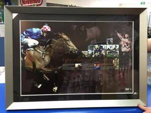 Makybe Diva From Champion to Legend Framed Hand Signed Glen Boss Adamstown Newcastle Area Preview