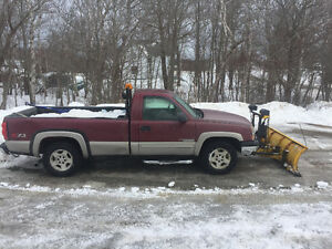 2005 Silverado Plow Truck for Sale !!!!