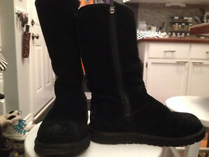 UGGS black zip up