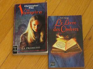 DUO FLEUVE NOIR/ VAMPIRE TOME 1 promesse /LIVRE DES OMBRES