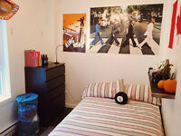Student room in furnished Apartment (Downtown Montreal)