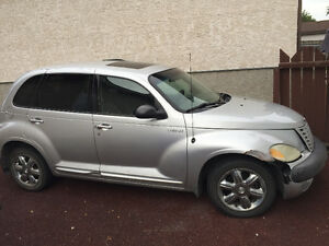 2002 Chrysler PT Cruiser Silver Hatchback