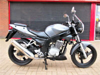 DAELIM VJ 125 ROADWIN 2009 SERVICED NEW MOT ALARM HPI WARRANTY FINANCE