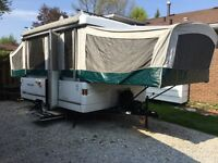 Coleman Seapine 10ft box tent trailer