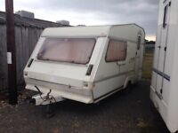 Elldis 122 crown caravan project in need of tlc