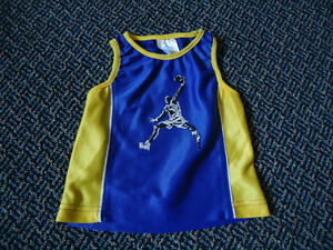 Boys Size 12 Months Basketball Tank Top