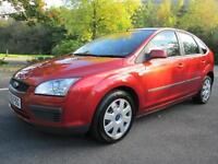 07/56 FORD FOCUS 1.8 TDCI LX 5DR HATCH IN MET RED WITH SERVICE HISTORY