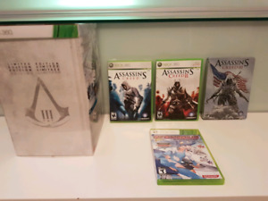 Assassins creed trilogy , sealed limited edition , steelbook