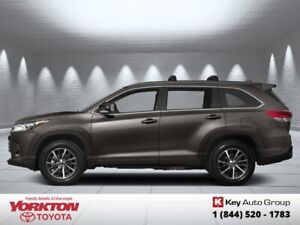 2019 Toyota Highlander XLE AWD  - Navigation -  Sunroof - $309.6