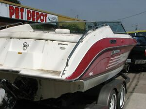 23 ft.   8 ft wide Cruisers Inc. FAST BOAT