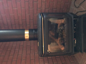 Napoleon gas stove perfect condition barely used .