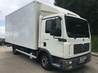 2009 09 MAN TGL 8.180 18ft grp box, manual gearbox