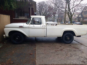 1963 Ford F-350 FOR SALE OR TRADE: appraised- $7500