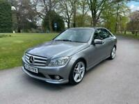 2009 59 MERCEDES C220 2.2 CDI SPORT AMG BLUE EFFICIENCY 12 MONTHS WARRANTY