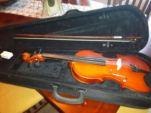 In new condition mid size Violin