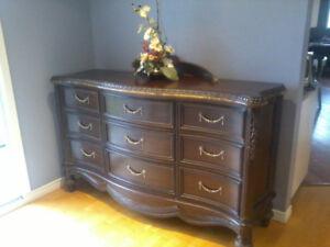 Walnut Dresser for sale