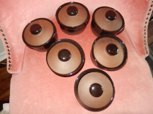 COLLECTIBLE SET OF T.G.GREEN (U.K.) SOUP DISHES-DISC.&NEW