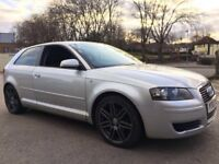 2007 AUDI A3 1.9 TDI SPECIAL EDITION RS4 ALLOYS FULL SERVICE HISTORY NOT 120D FR GOLF GTI S3 TYPE R