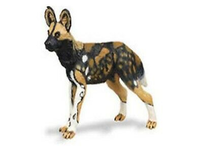 (Safari Ltd 239729 African Wild Dog 3 1/8in Series Wild Animals)