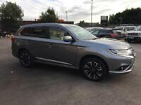 2017 Mitsubishi Outlander PHEV 5H PETROL/ELECTRIC grey CVT
