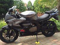 Hyosung gt125r very clean bike 630 miles full mot £1499