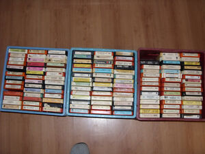 250  8Track Tapes
