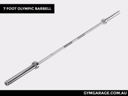 Brand New 7 Foot Olympic Barbell - Rated to 700lbs