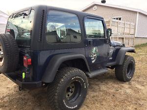 2001 Jeep TJ VUS