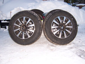 FOR SALE 4 R 70  15  ALL SEASON  2  WAS JUST PUT ON  THIS WINTER