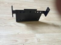 Winch mount for kodiak grizzly or bruin