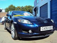 Mazda RX-8 Coupe -231 PS Model– Full Leather – Renesis Rotary Engine £1,999