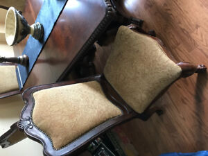 Dining room chairs (Constantina Chairs from Ashley Furniture)